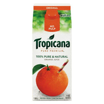 TROPICANA JUS D'ORANGE SANS-PULPE 1.65 L