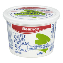 BEATRICE SOUR CREAM LIGHT 5% 500 ML