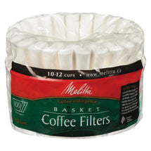 MELITTA COFFEE FILTERS BASKET NATURAL BROWN 1 x 100 U