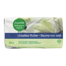COMPLIMENTS ORGANIC BUTTER NON SALTED 250G