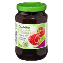 COMPLIMENTS ORGANIC JAM RASPBERRY 250 ML