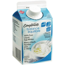 COMPLIMENTS LIQUID EGG WHITES 500G