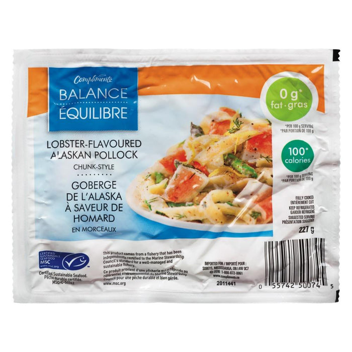 COMPLIMENTS BALANCE LOBSTER FLAVOURED CHUNKS 227G
