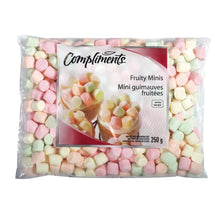 COMPLIMENTS MINI FRUIT MARSHMALLOWS 250 G