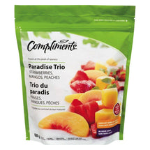 COMPLIMENTS TRIO DU PARADIS FRUITS SURGELÉS 600 G