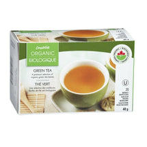 COMPLIMENTS ORGANIC GREEN TEA 40 G