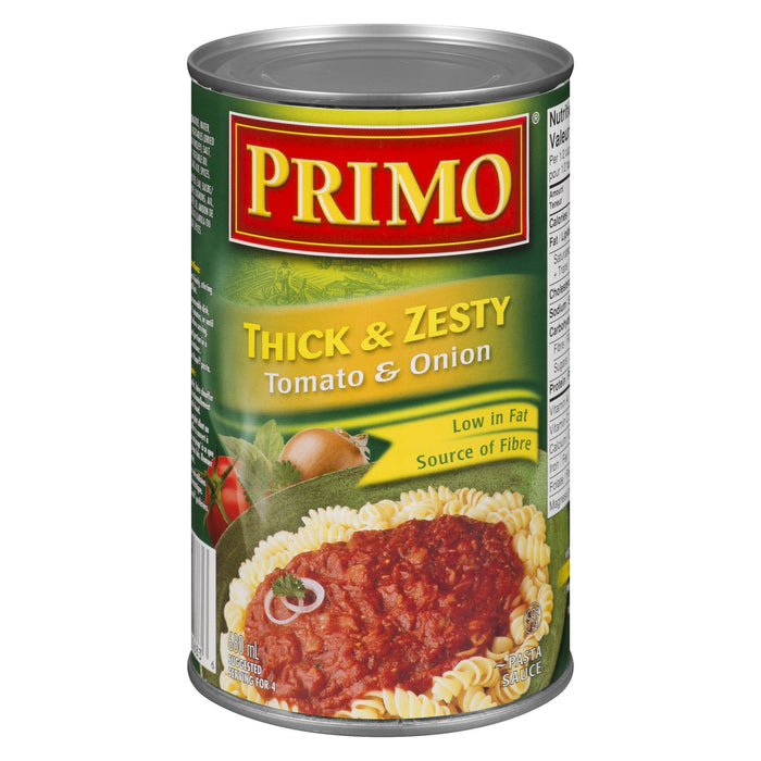 PRIMO PASTA SAUCE TOMATO AND ONION 680 ML