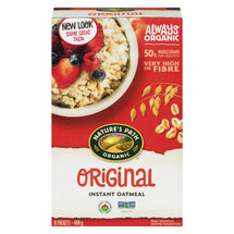 NATURES PATH ORGANIC OATMEAL ORIGINAL 8S 400 G