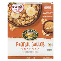 NATURES PATH ORGANIC CEREAL GRANOLA PEANUT BUTTER 325 G
