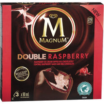 MAGNUM DOUBLE FRAMBOISE 3X90 ML