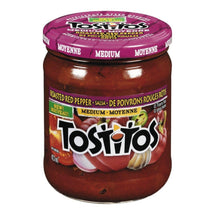TOSTITOS SALSA POIVRON ROUGE RÔTI 423 ML