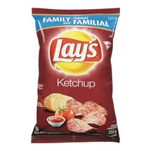 LAYS POTATO CHIPS KETCHUP FAMILY SIZE 255 G