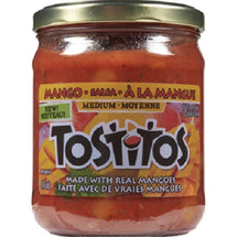 TOSTITOS SALSA À  LA MANGUE 416 ML