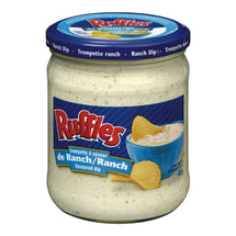 RUFFLES TREMPETTE RANCH CRÉMEUSE 425 G