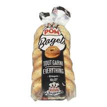 POM BAGELS SLICED EVERYTHING 6S 450 G