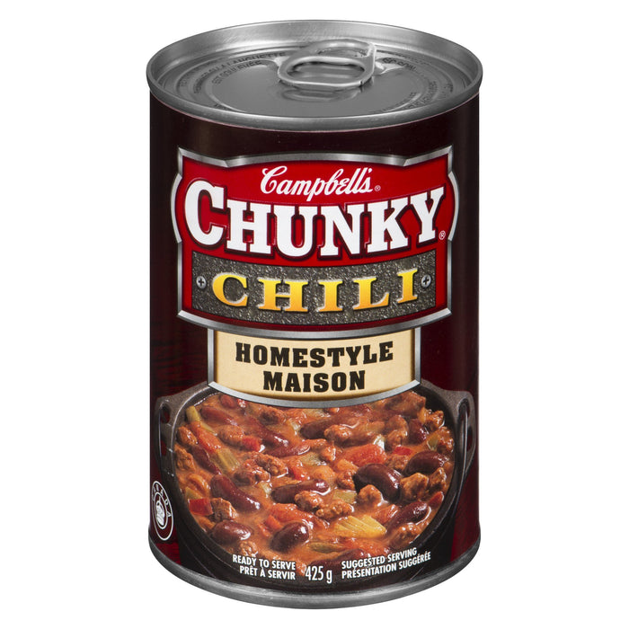 CAMPBELLS CHUNKY CHILI HOMESTYLE 425 G