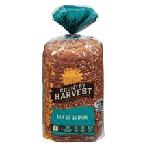 COUNTRY HARVEST PAIN LIN ET QUINOA 675 G