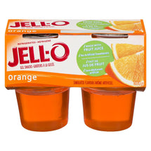 JELLO REFRIGERATED DESERT ORANGE 4X89G
