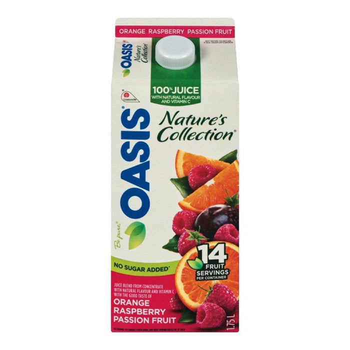 OASIS JUS D'ORANGE FRAMBOISE 1.75 L