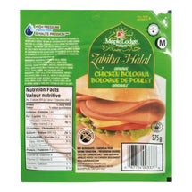 MAPLE LODGE HALAL BOLOGNE POULET 375 G