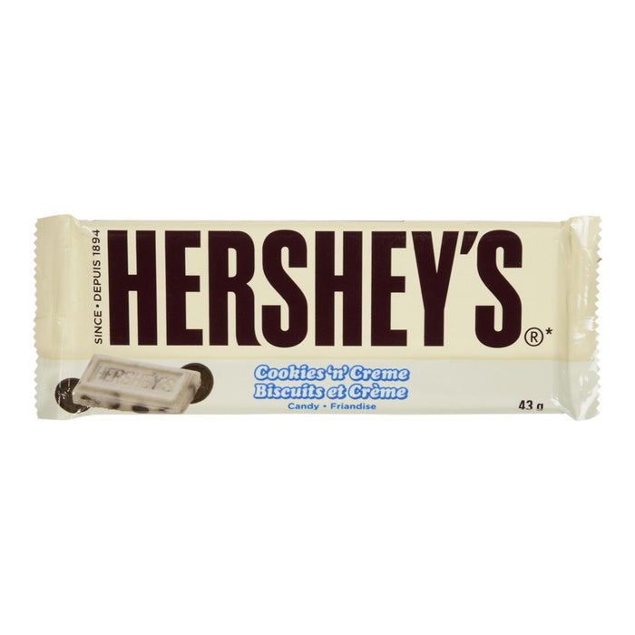 HERSHEY CANDY COOKIES CREME 43 G