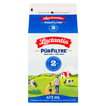 LACTANTIA PUR FILTRE MILK 2% 473 ML