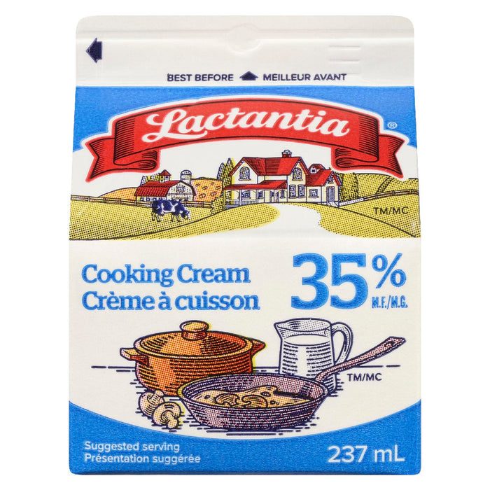 LACTANTIA CREAM COOKING 35% 237 ML