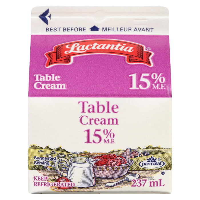 LACTANTIA CREAM TABLE 15% 237 ML