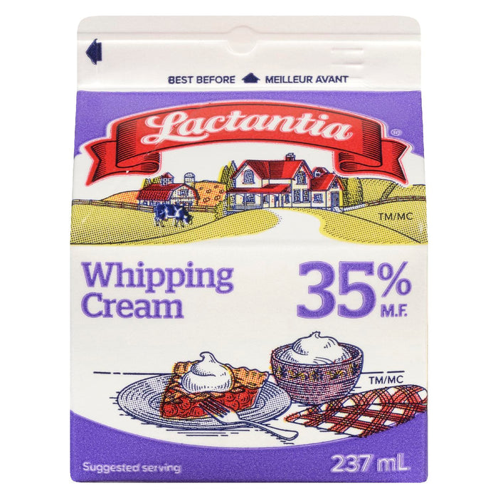 LACTANTIA CREAM WHIPPING 35% 237 ML