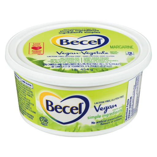BECEL VEGETABLE MARGARINE 454G
