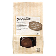 COMPLIMENTS BROWNIE BITES 300G