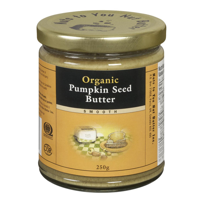 NUTS TO YOU NUT BUTTER PUMPKIN SEED BUTTER SMOOTH ORGANIC 250 G