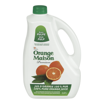 ORANGE MAISON JUS D'ORANGE AVEC PULPE 2.63 L