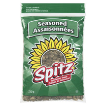 SPITZ SUNFLOWER SEEDS SEASONED 210 G