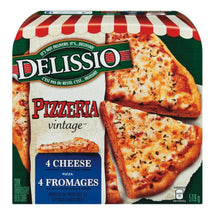 DELISSIO PIZZA VINTAGE 4 FROMAGE 519 G