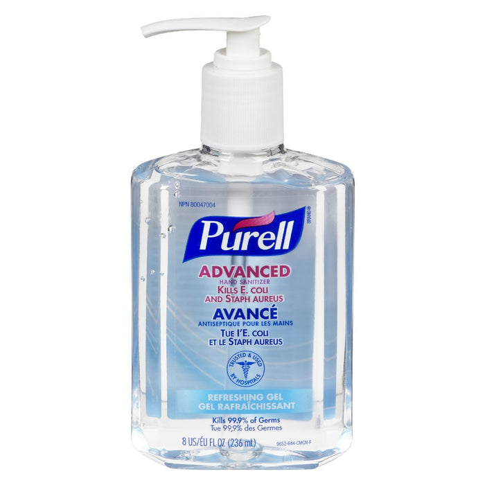 Purell Hand Sanitizer Gel Refreshing 236 Ml Delivurr