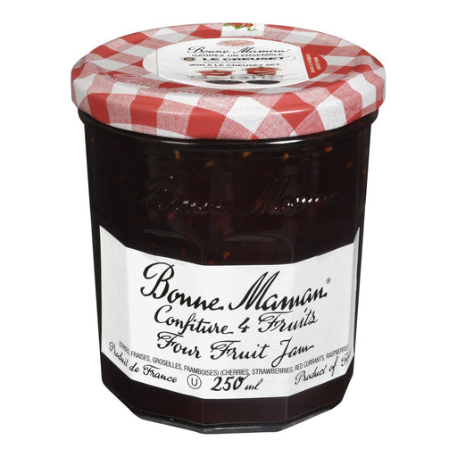 BONNE MAMAN JAM FOUR FRUIT 250 ML