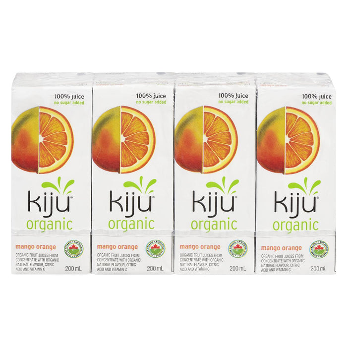 KIJU JUICE NO SUGAR ADDED MANGO ORANGE ORGANIC 200 ML