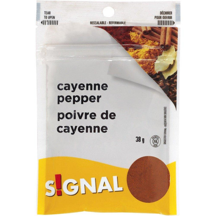 SIGNAL GROUND CAYENNE PEPPER 38 G