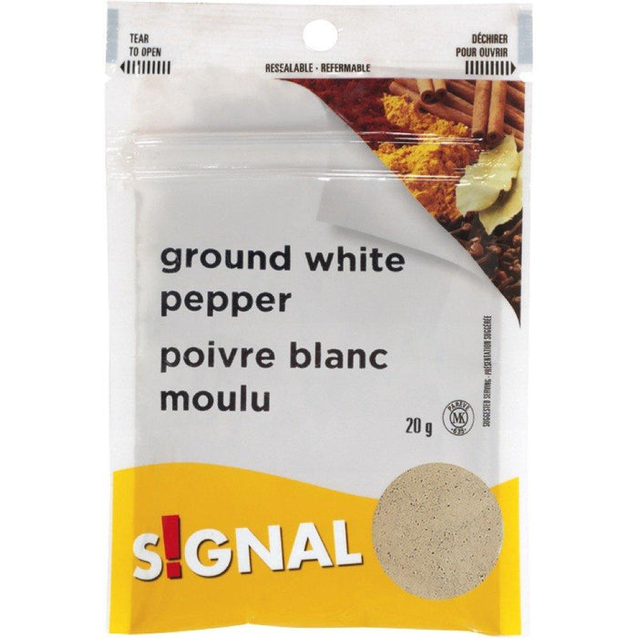 SIGNAL GROUND WHITE PEPPER 20 G