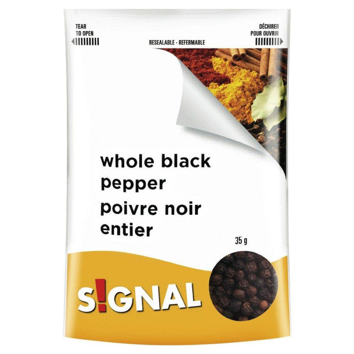 SIGNAL WHOLE BLACK PEPPER 35 G