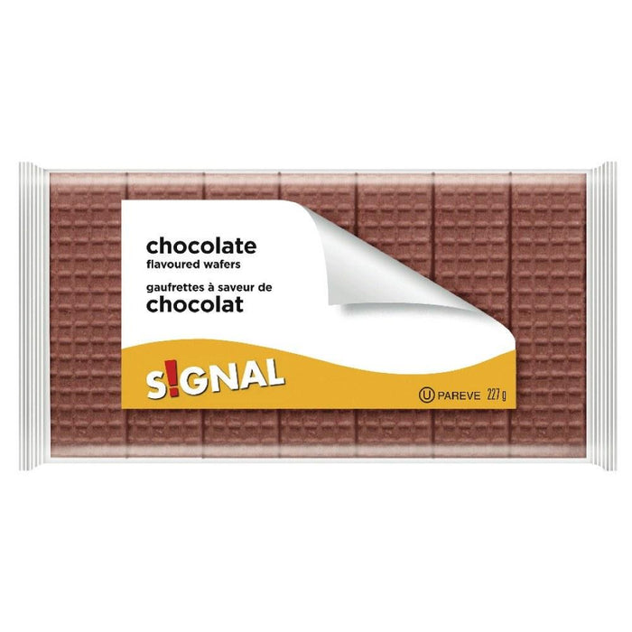 SIGNAL CHOCOLATE FLAVORED WAFERS 227 G