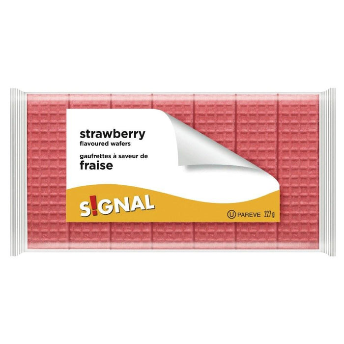 SIGNAL STRAWBERRY FLAVORED WAFERS 227 G