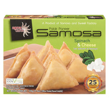 APNA TASTE SAMOSA SPINACH AND CHEESE 550 G