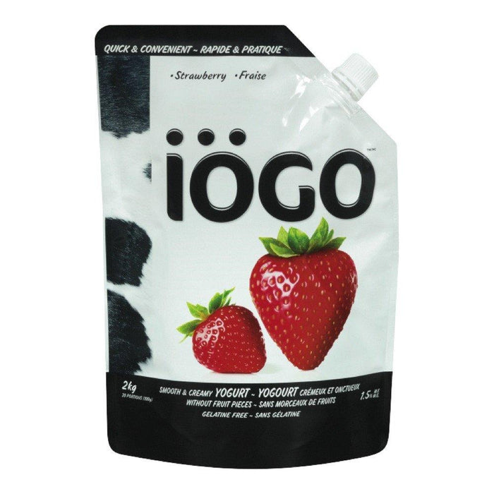 IOGO STRAWBERRY YOGURT 2 KG