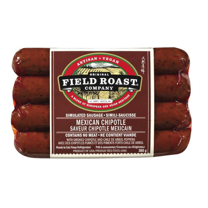 FIELD ROAST SAUSAGE MEXICAN CHIPOTLE 4S 368 G