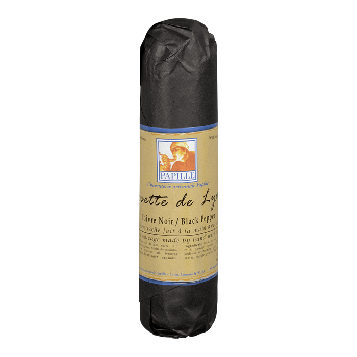 PAPILLE ROSETTE OF LYON BLACK PEPPER 300 G