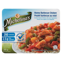 MICHELINA'S HONEY BARBEQUE CHICKEN HARMONY FROZEN DINNER 241 G