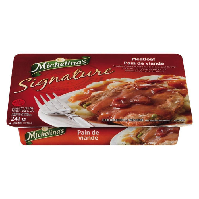 MICHELINA'S MEAT LOAF & GRAVY SIGNATURE 241 G