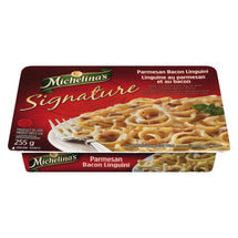 MICHELINA'S PARMESAN BACON LINGUINE SIGNATURE FROZEN DINNER 255 G